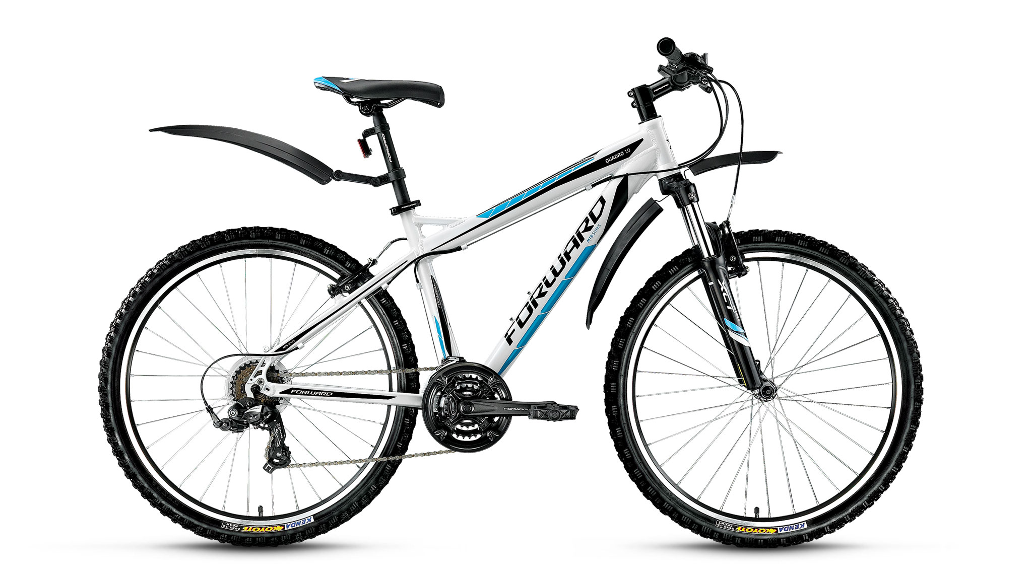 FORWARD Велосипед Forward Quadro 1.0 (2016) белый 19 велосипед forward portsmouth 1 0 19 2016 black