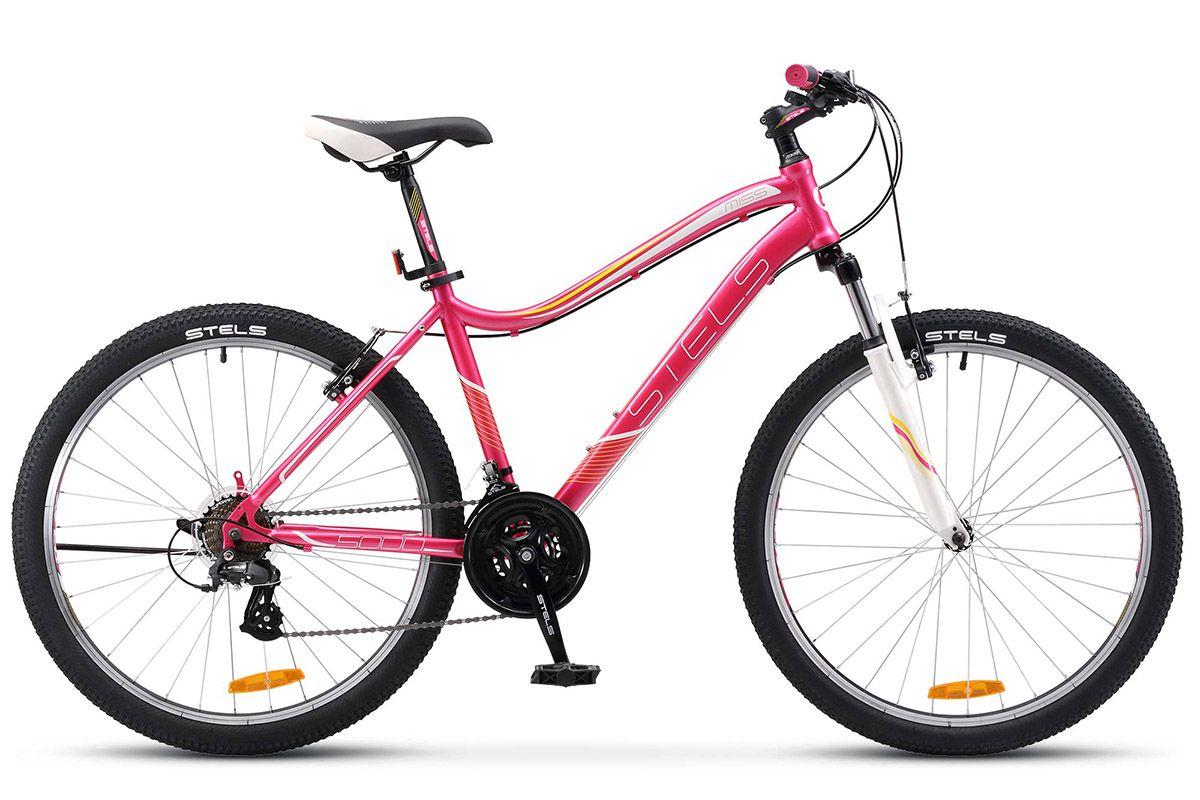 """Велосипед Stels Miss 5000 V 26 (2017) аметистовый 15"""""""