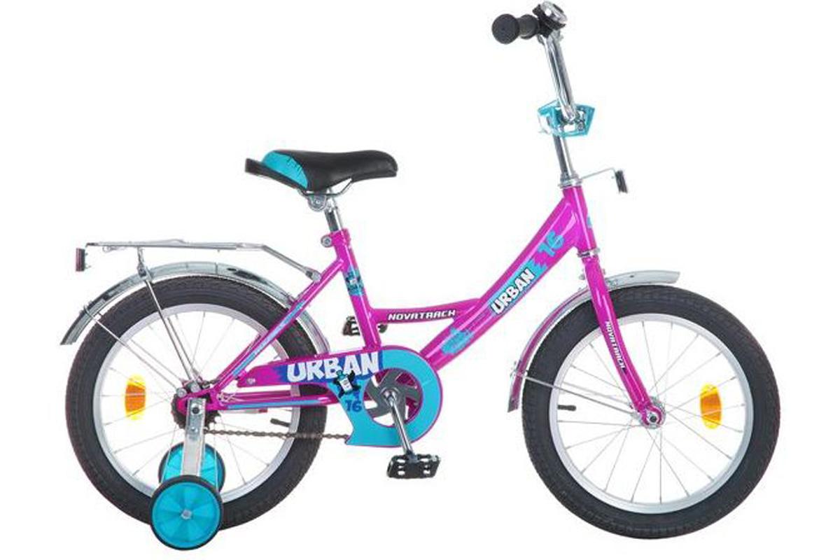 NOVATRACK Велосипед Novatrack Urban 16 (2016) вишнёвый one size детский велосипед novatrack urban 20 blue