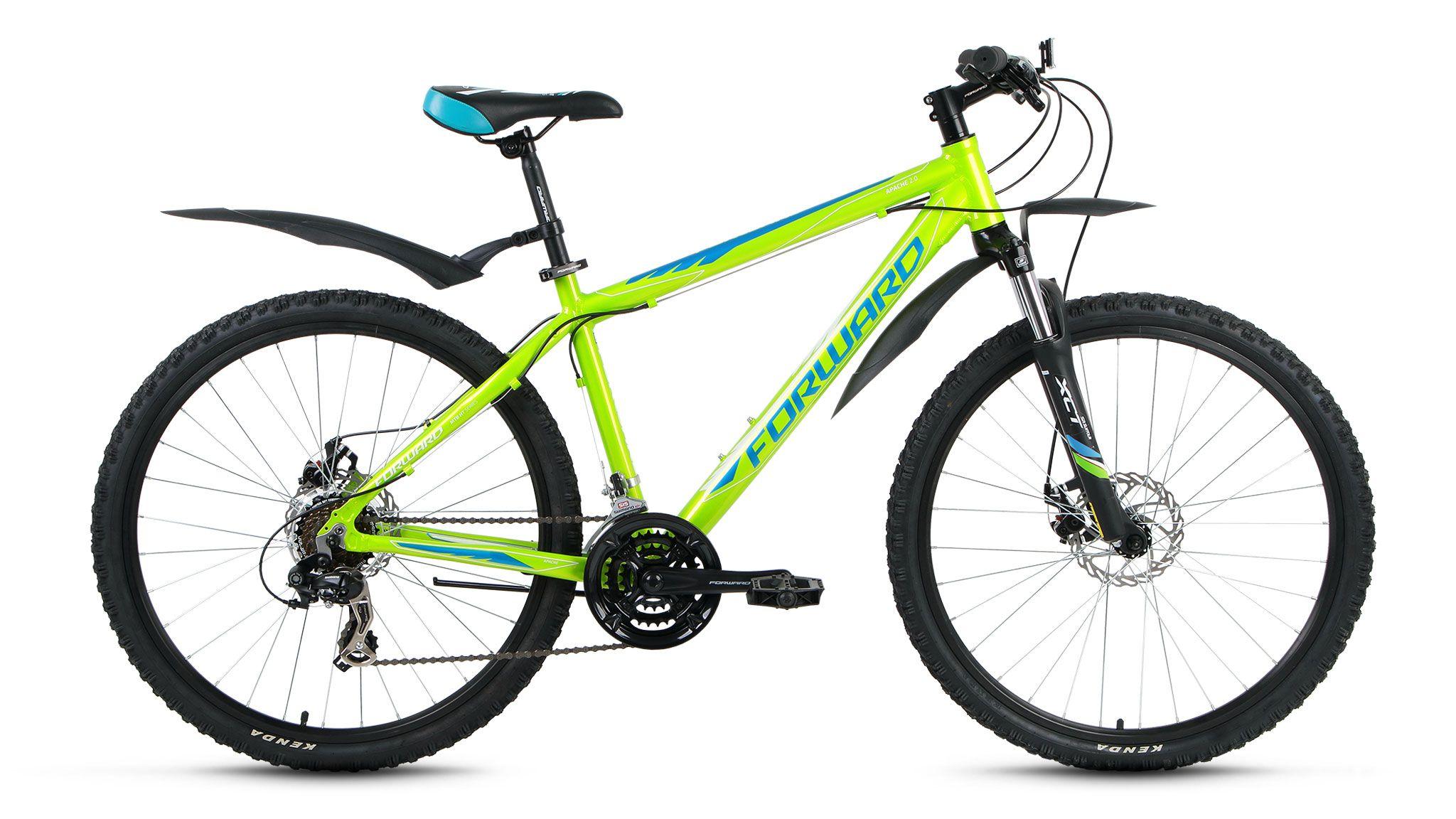 Велосипед Forward Apache 2.0 disc (2016) серый матовый 15