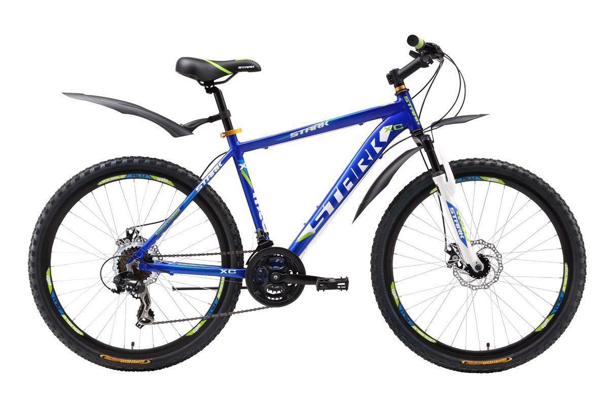Велосипед Stark Hunter Disc (2016) сине-зеленый 16