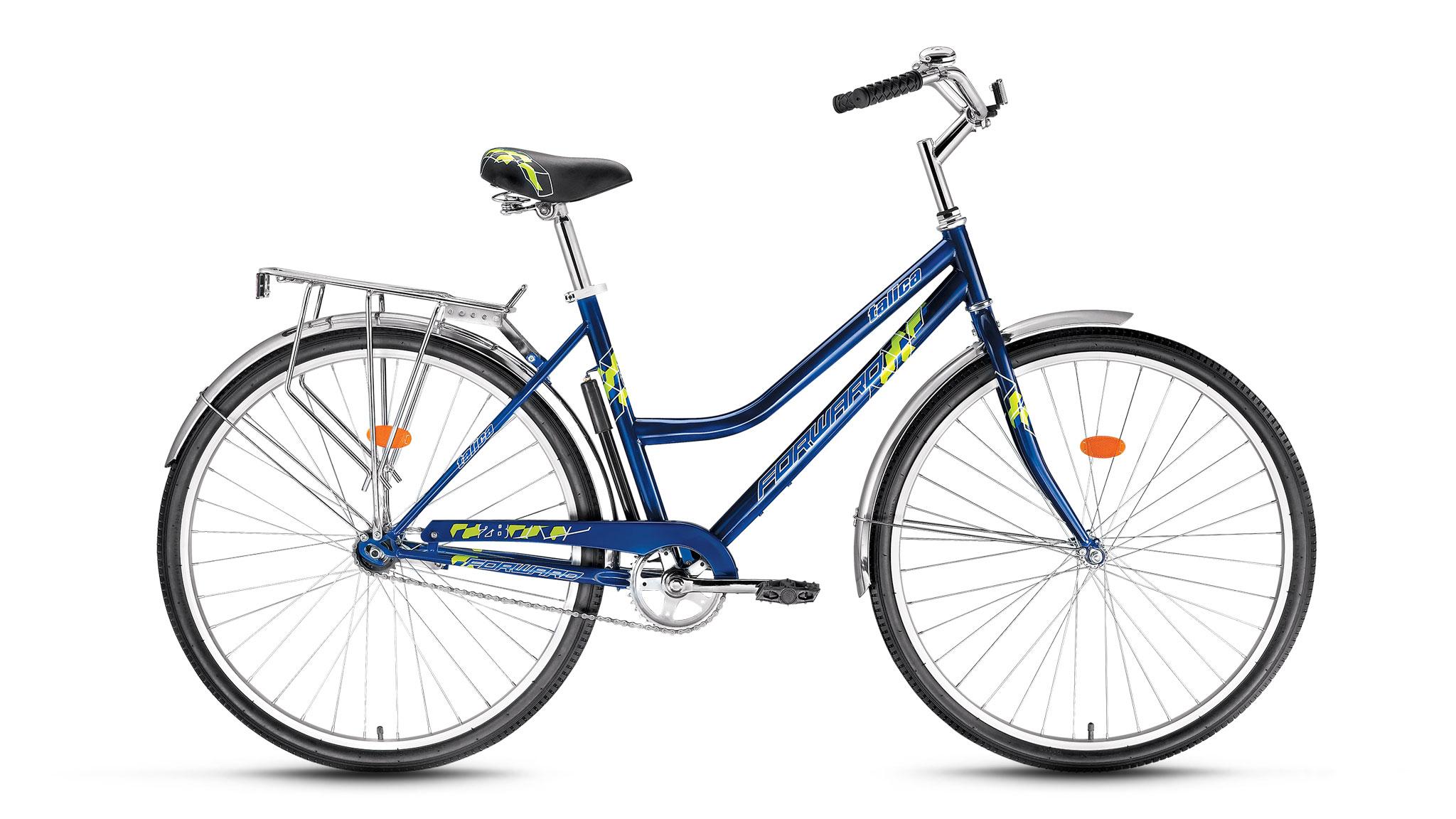 Велосипед Forward Talica 1.0 2017 синий 19 д