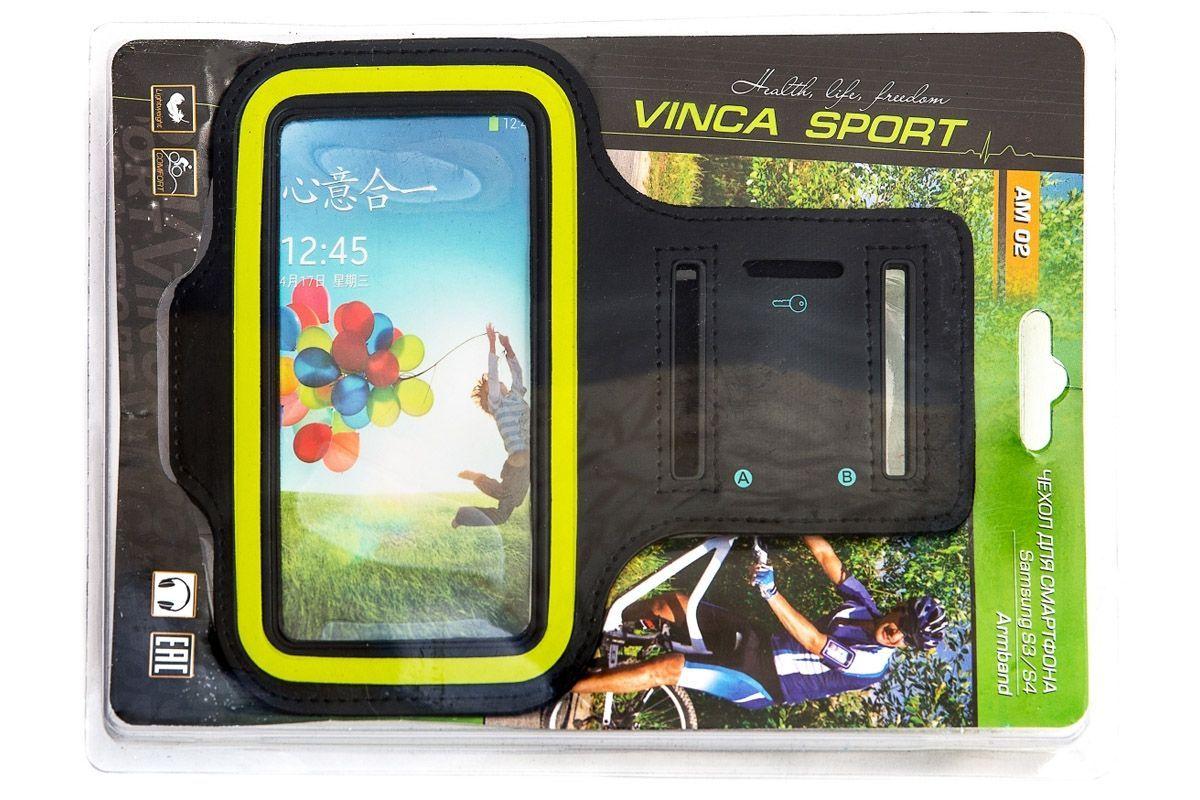 Водозащитный держатель - чехол на руку для Samsung S3-S4 AM02 Vinca Sport чёрный