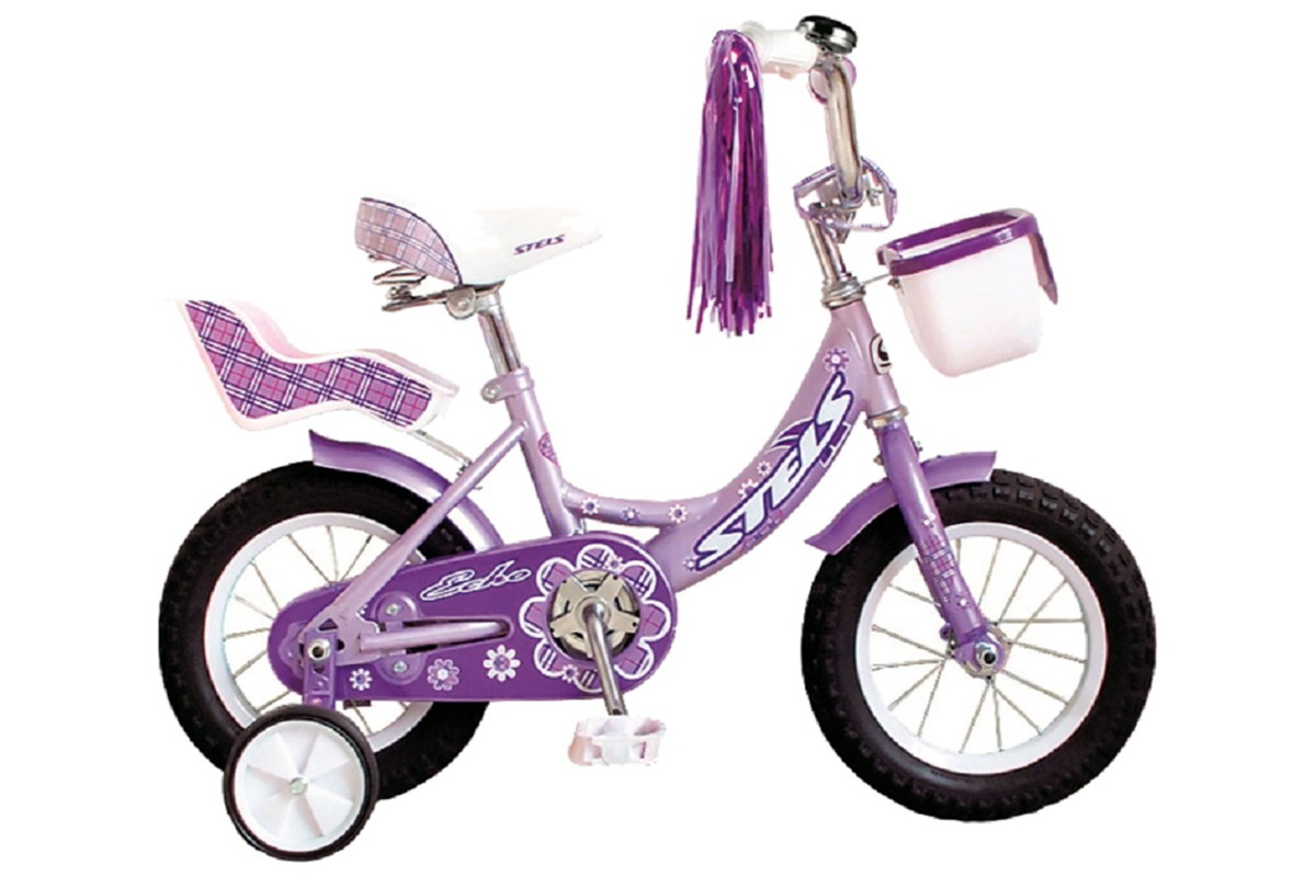 STELS Велосипед Stels ECHO 12 (2015) фиолетовый one size детский велосипед для девочек stels echo 8 2016 pink
