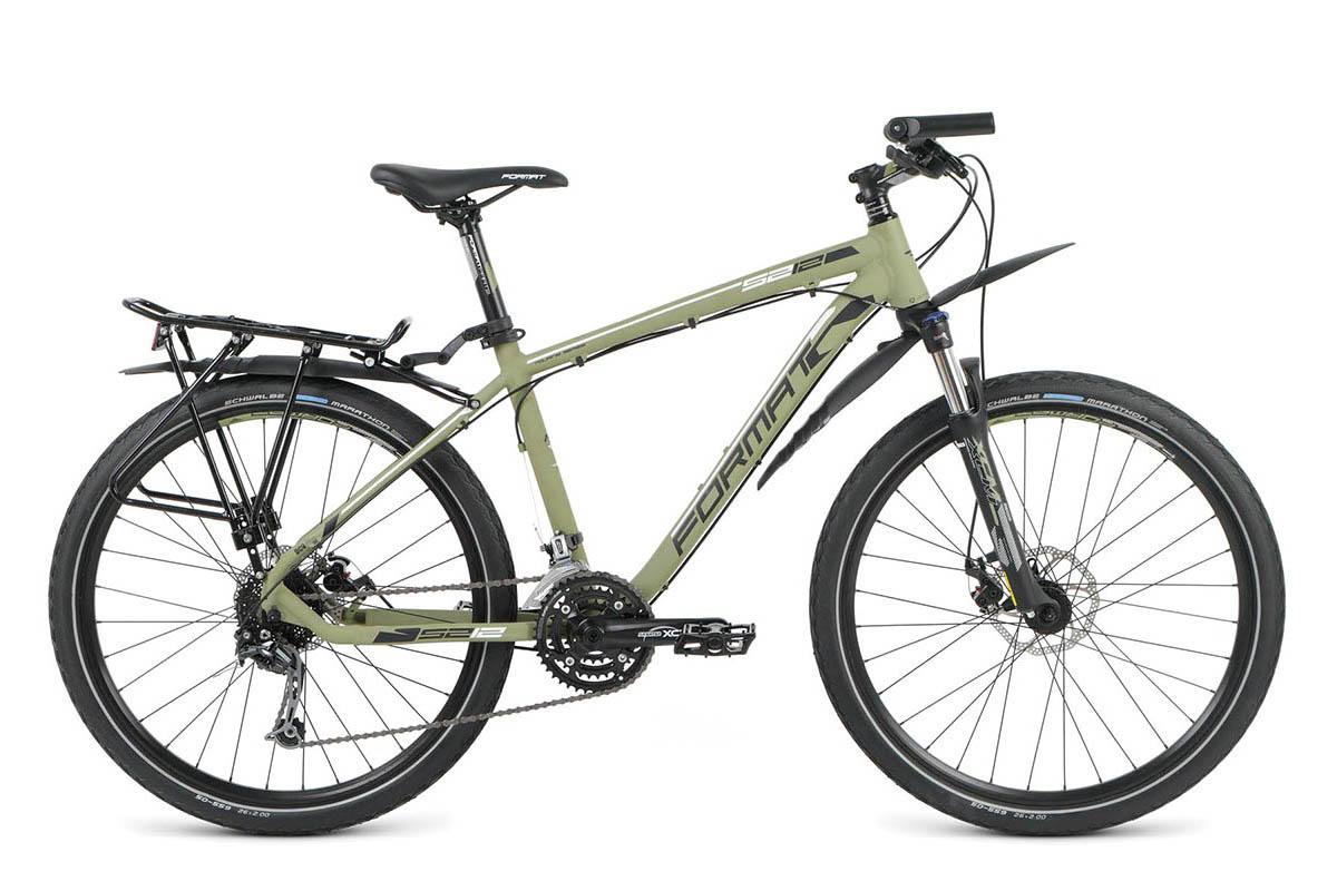 Велосипед Format 5212 2016 хаки-матовый 20 д