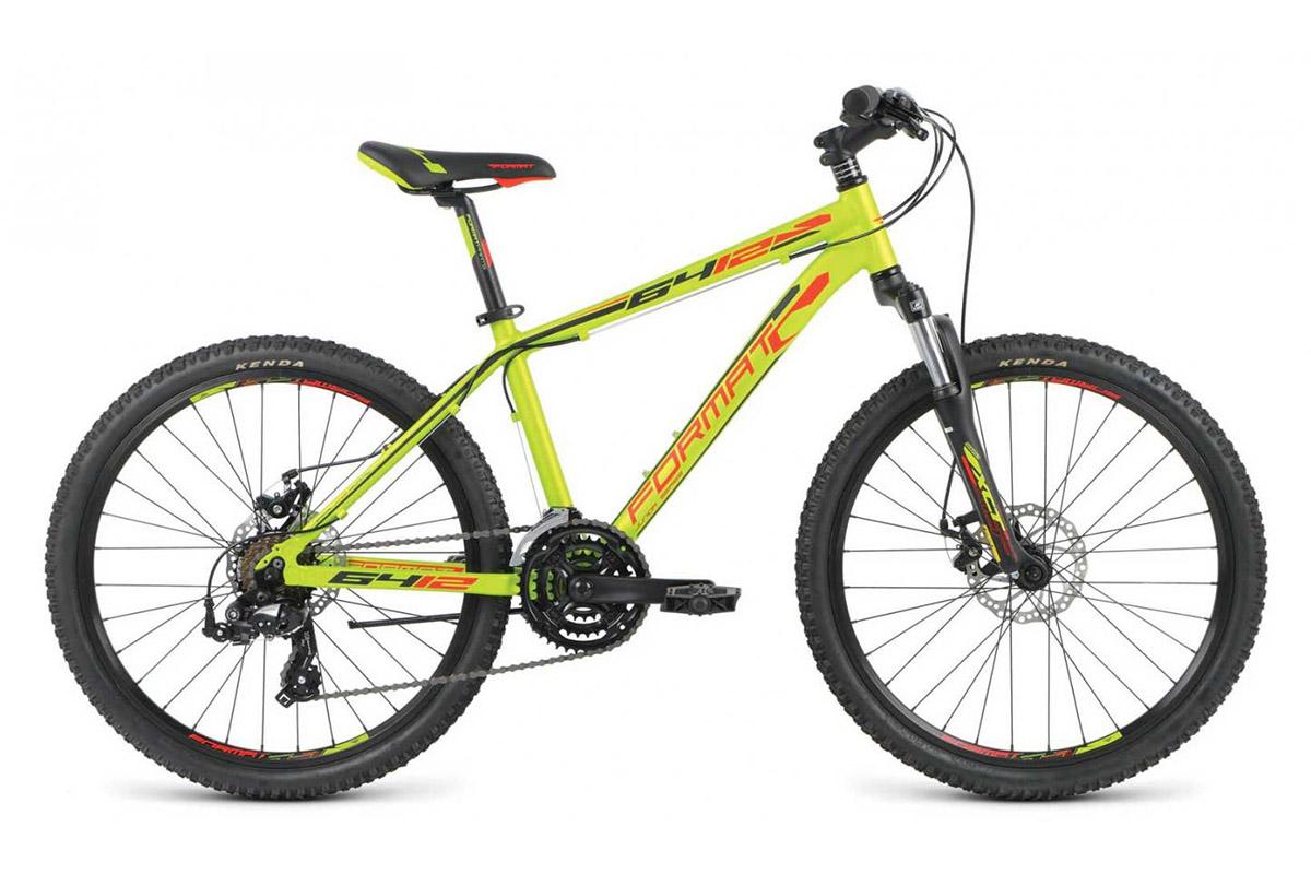 Велосипед Format 6412 Boy (2016) зеленый 13