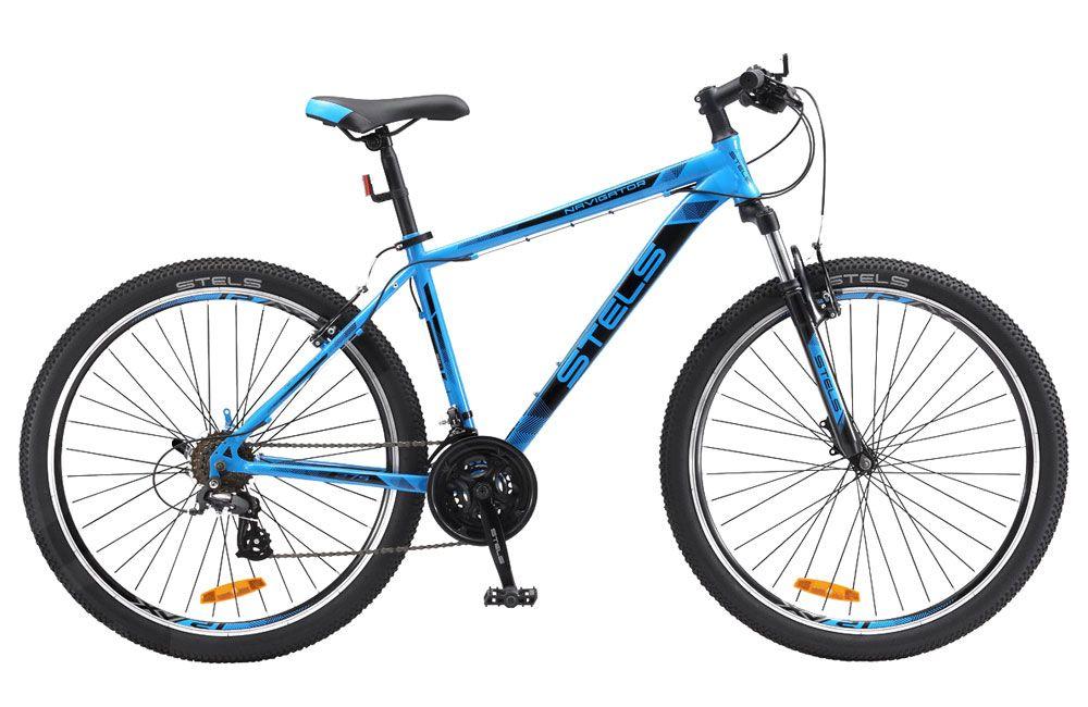 Велосипед Stels Navigator 700 V 27.5 2018 синий 19 д
