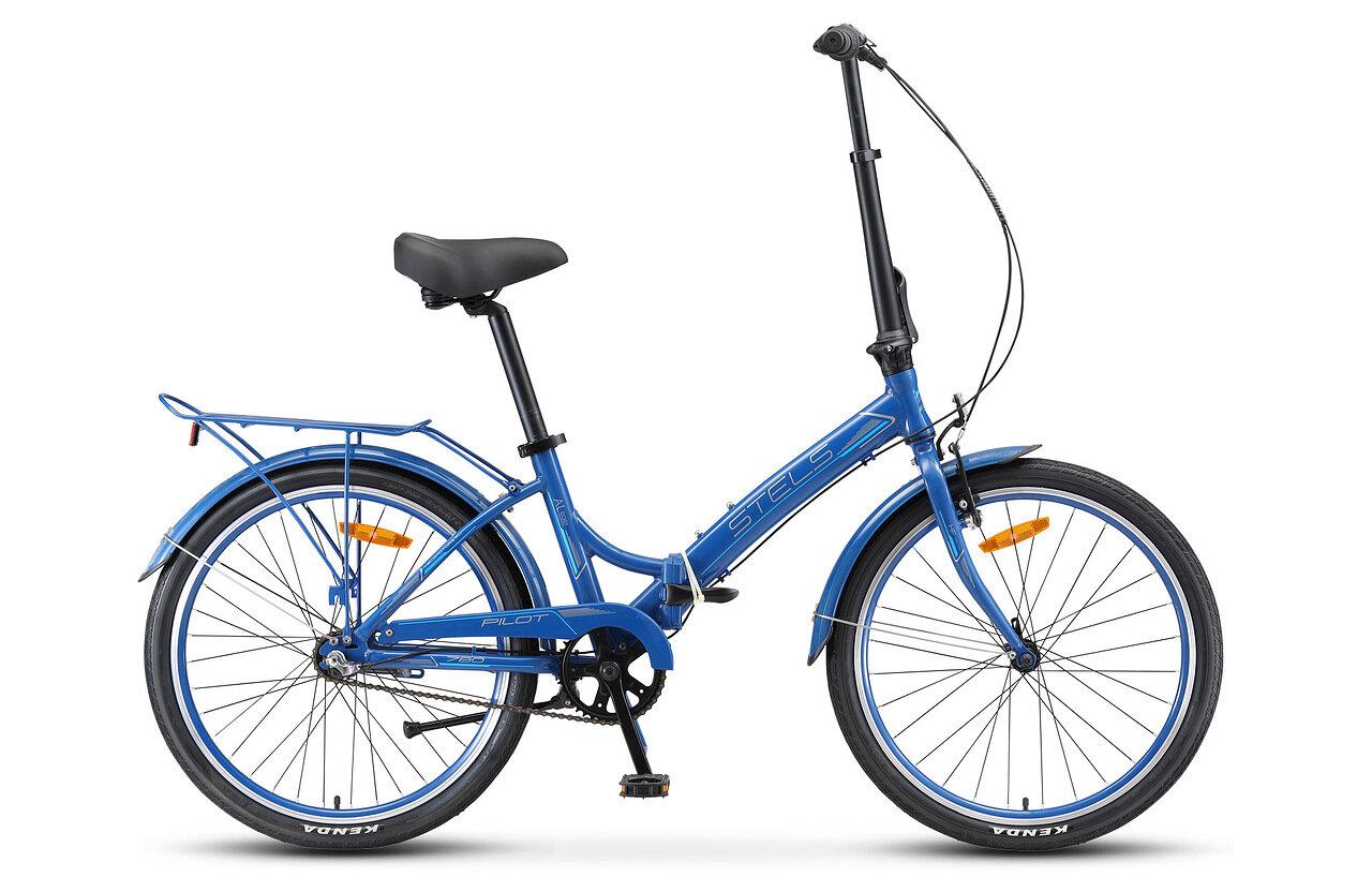 Велосипед Stels Pilot 780 24 V010 2019 темно-синий