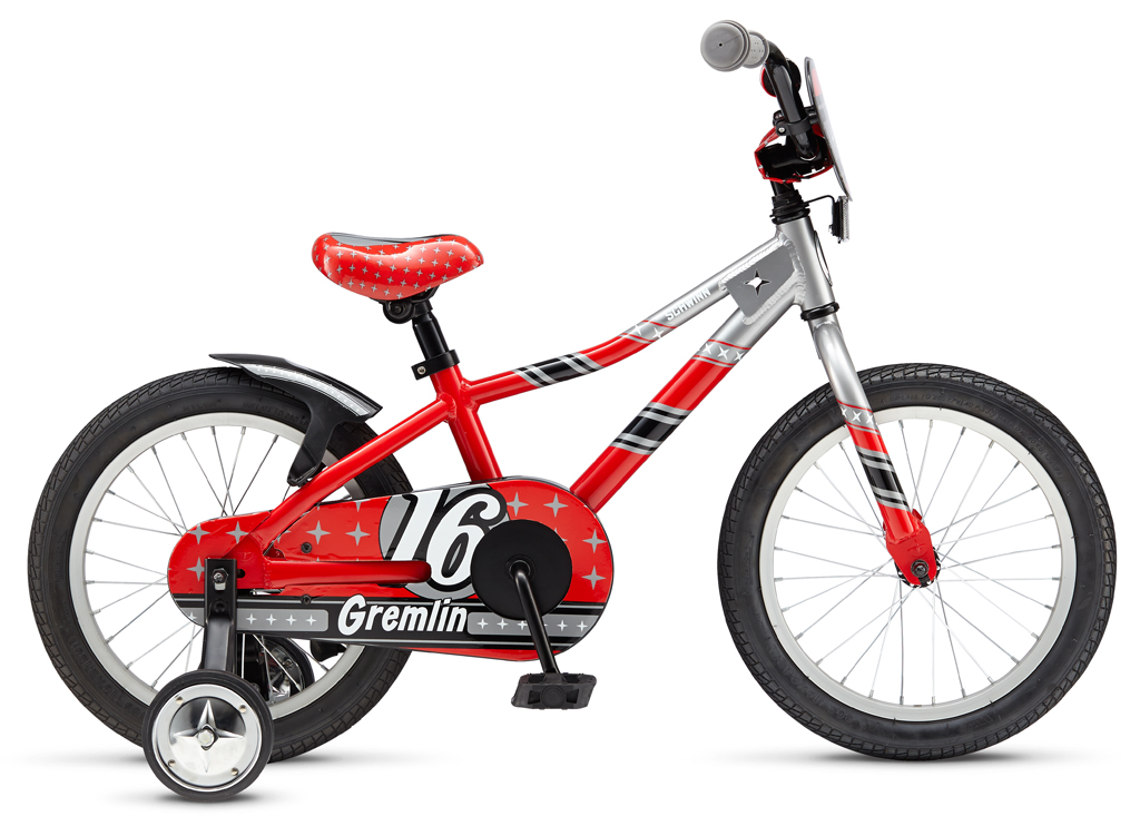 Велосипед Schwinn Gremlin (2015) красно-серебристый one size