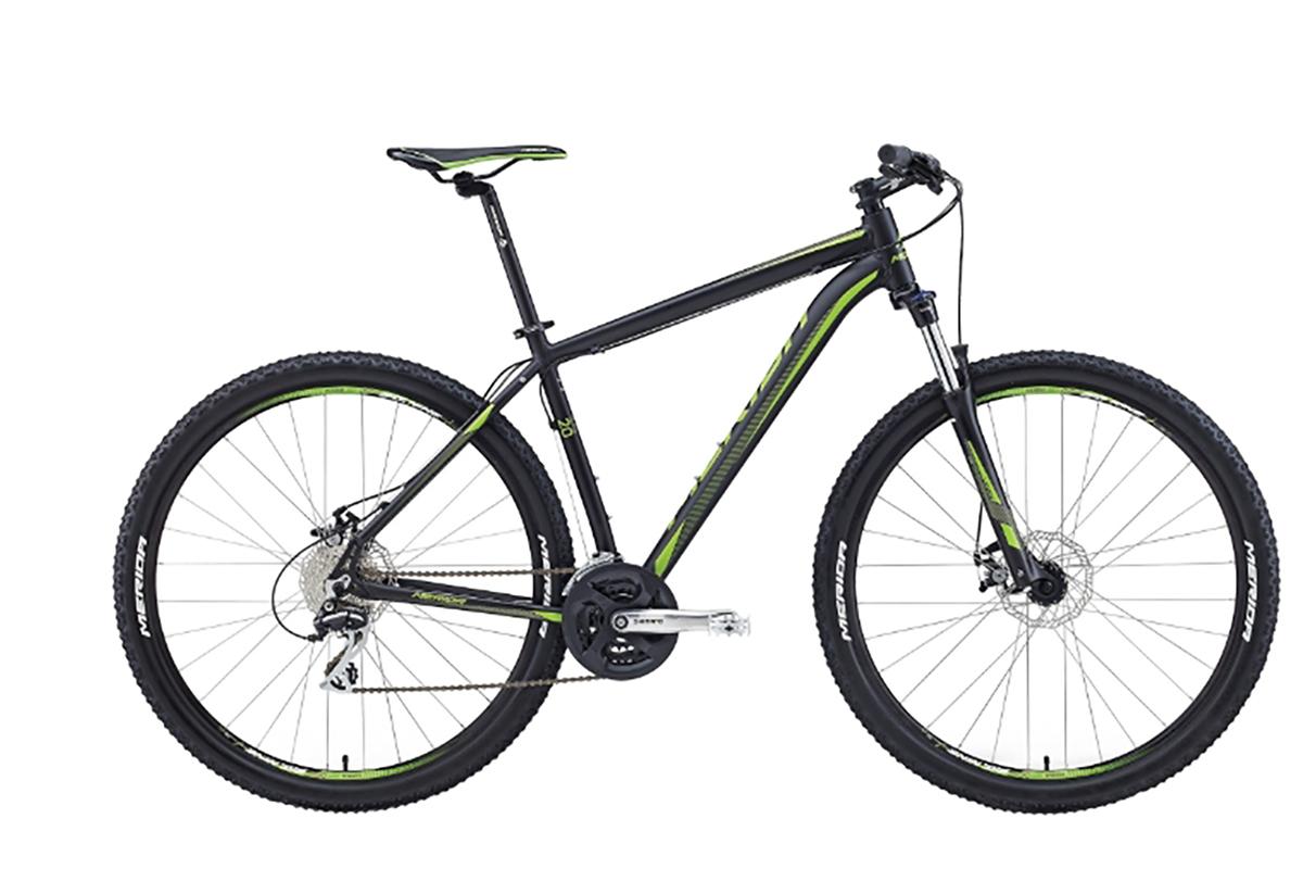 Велосипед Merida Big.Nine 20-MD (2016) красно-желто-черный 17