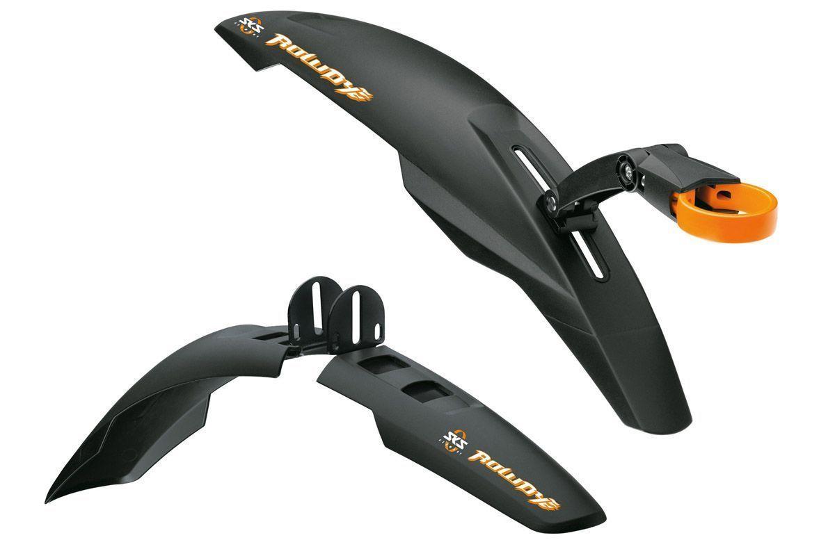 Комплект крыльев SKS Rowdy 20-24 чёрный
