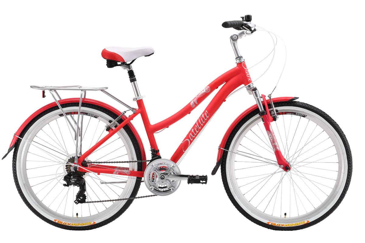 Велосипед Stark Satellite Lady (2016) розово-серебристый 18