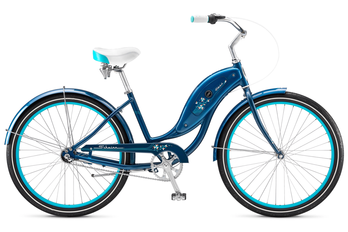 Велосипед Schwinn Debutante Women 2018 синий one size