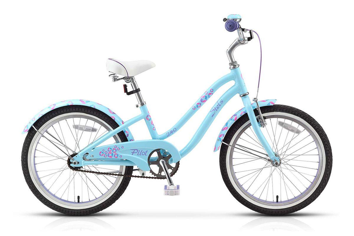 Велосипед Stels Pilot 240 Girl 1 Sp (2015) голубой-пурпурный 11
