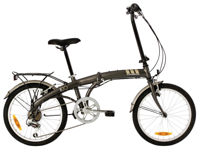 Велосипед Orbea Folding A20 2015 серый one size