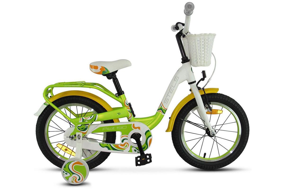 Велосипед Stels Pilot 190 18 2018 красно-желто-белый 9 д