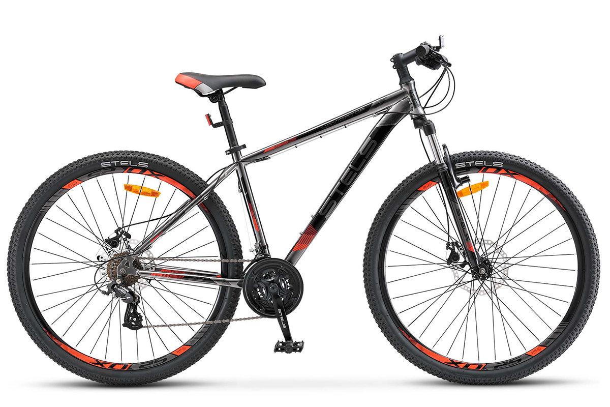 STELS Велосипед Stels Navigator 500 MD 29 (2017) хромово-серебристый 17.5 велосипед stels navigator 310 2016