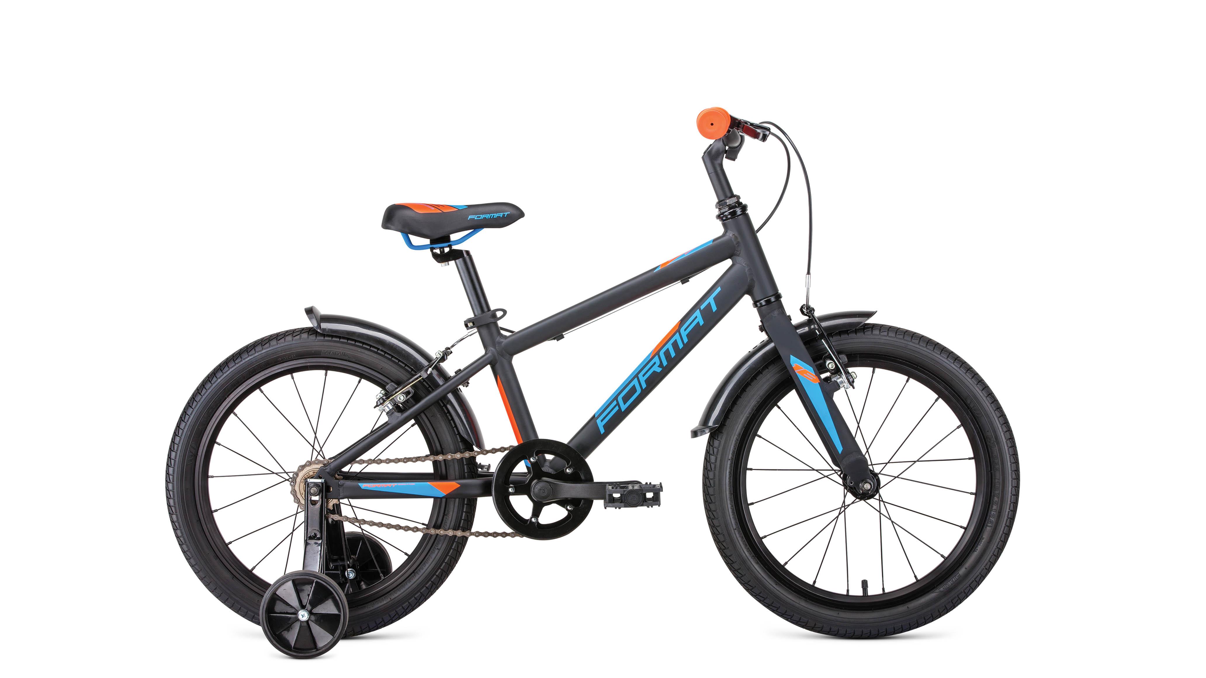 Велосипед FORMAT Kids 18 2019 черный матовый one size