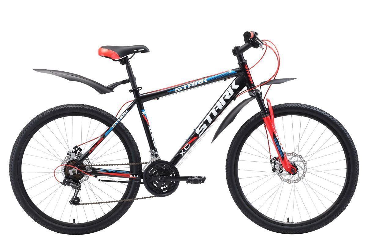 Велосипед Stark Tank 26.1 D 2018 чёрный-красный-синий 16 д