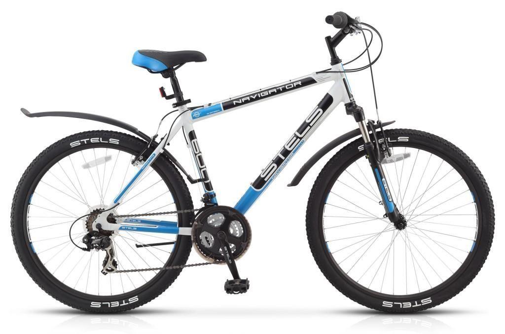 Велосипед Stels Navigator 600 V 26 2016 серебристо-зеленый 19 д