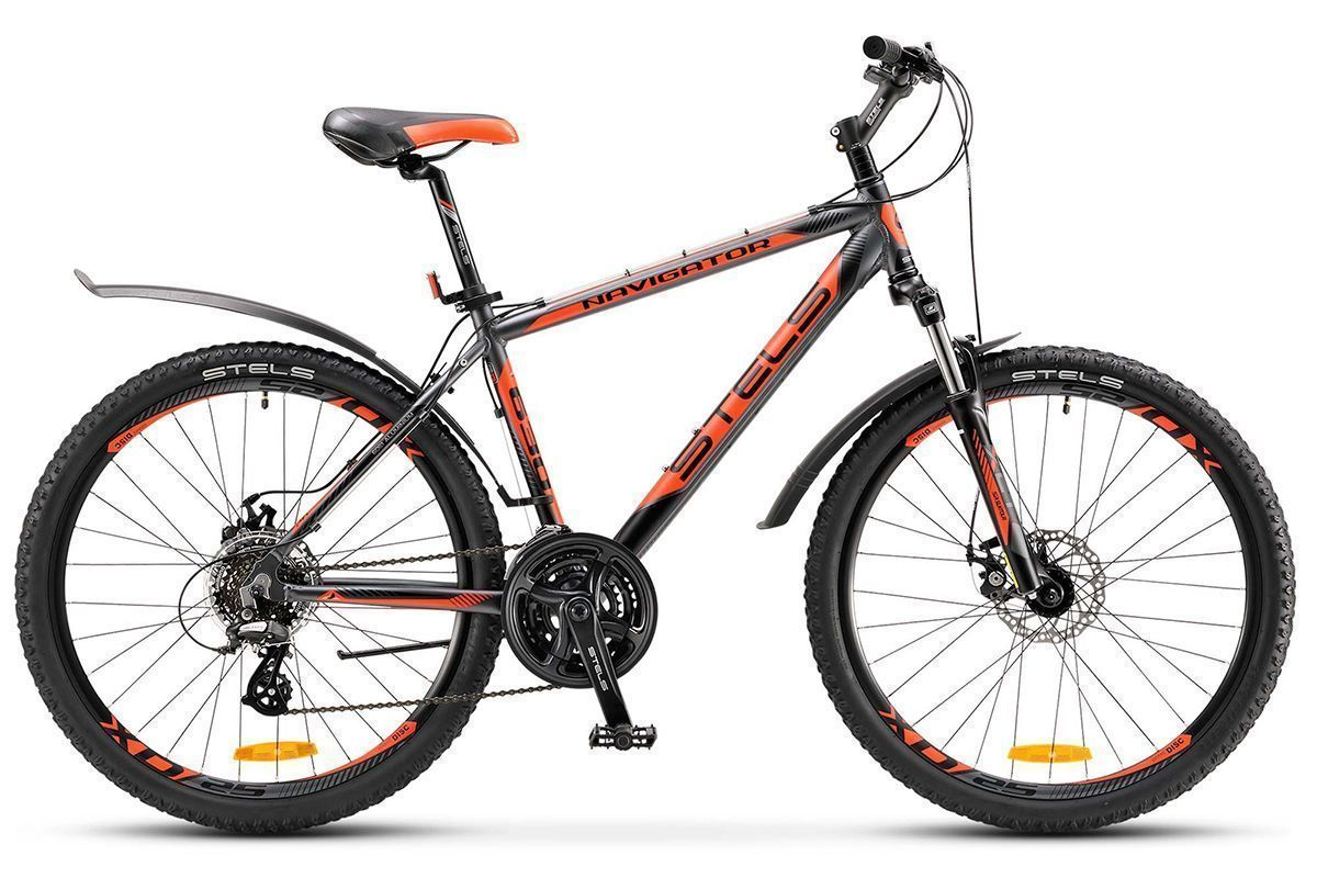 STELS Велосипед Stels Navigator 630 MD (2017) серо-черно-красный 19.5 велосипед stels navigator 380 2016