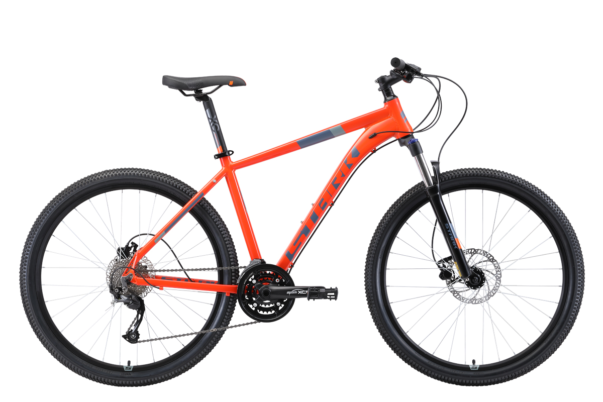 Велосипед Stark Router 27.4 HD 2019 оранжевый-серый 16 д