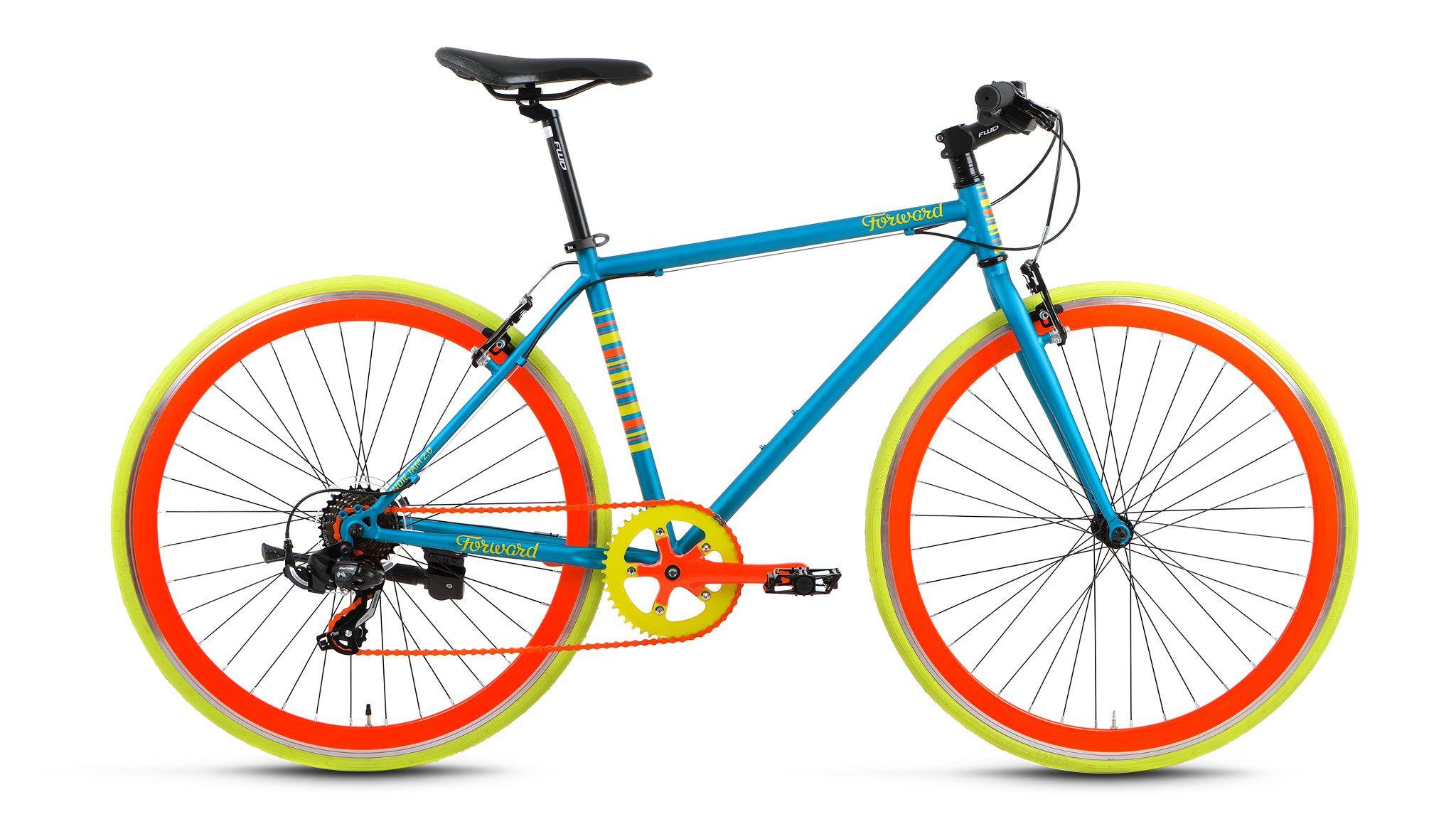 Велосипед Forward Indie Jam 2.0 (2017) зеленый 18КОМФОРТНАЯ ПОСАДКА<br><br><br>бренд: FORWARD<br>год: 2017<br>рама: Сталь (Hi-Ten)<br>вилка: Жесткая (сталь)<br>блокировка амортизатора: Нет<br>диаметр колес: 700C<br>тормоза: Ободные (V-brake)<br>уровень оборудования: Начальный<br>количество скоростей: 7<br>Цвет: зеленый<br>Размер: 18