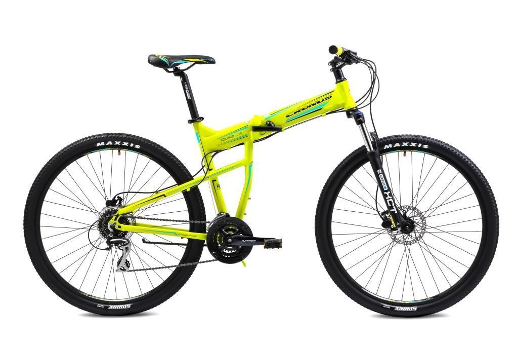 Велосипед Cronus Soldier 1.5 29 (2016) зелено-голубой 19.5