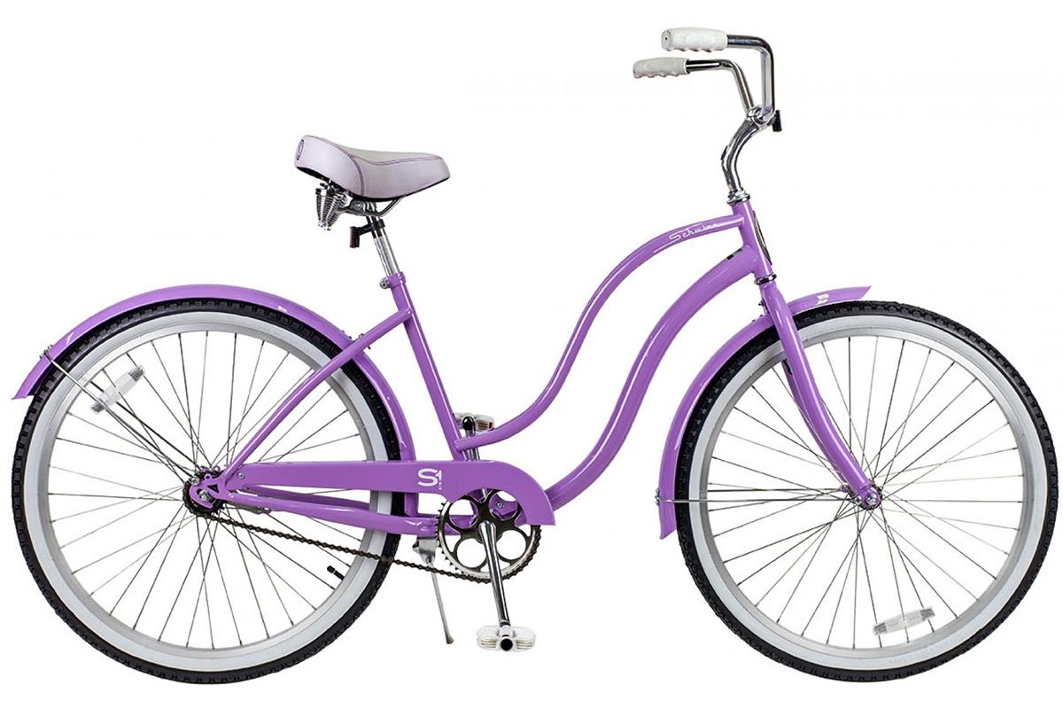 Велосипед Schwinn S1 Womens (2017) пурпурный one size