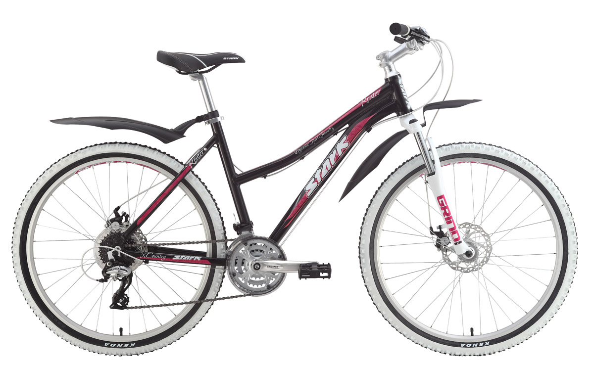 Велосипед Stark Router Lady Disc (2015) зеленый лайм-желтый 14.5СПОРТИВНЫЕ<br>Среди горных велосипедов с женской рамой, Stark Router Lady Disc наиболее технически оснащённый. Механические дисковые тормоза с роторами 160мм, дополнили и без того интересную комплектацию этого велосипеда. По выгодной цене, вы приобретаете женский горный велосипед на баттированной алюминиевой раме с качественным навесным оборудованием Shimano Acera, Suntour и передней вилкой Spinner с ходом 80мм. Изысканный дизайн велосипеда дополняют белые борта, хорошо зарекомендовавших себя, на грунтовом покрытии, покрышек Kenda K846. Выгодная цена  бесспорное преимущество женского горного велосипеда Stark Router Lady Disc.<br><br>бренд: STARK<br>год: 2015<br>рама: Алюминий (Alloy)<br>вилка: Амортизационная (пружина)<br>блокировка амортизатора: Нет<br>диаметр колес: 26<br>тормоза: Дисковые механические<br>уровень оборудования: Начальный<br>количество скоростей: 24<br>Цвет: зеленый лайм-желтый<br>Размер: 14.5
