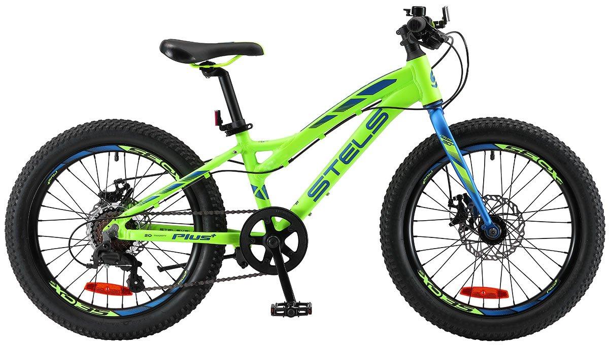 Велосипед Stels Adrenalin MD 20 V010 2019 неоновый-красный 11 д