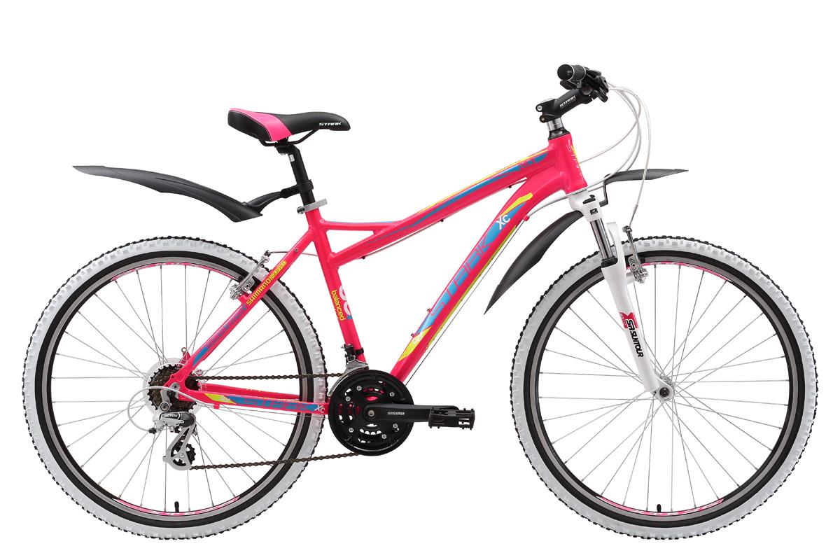 Велосипед Stark Ultra 26.3 V 2017 розово-желтый 16 д