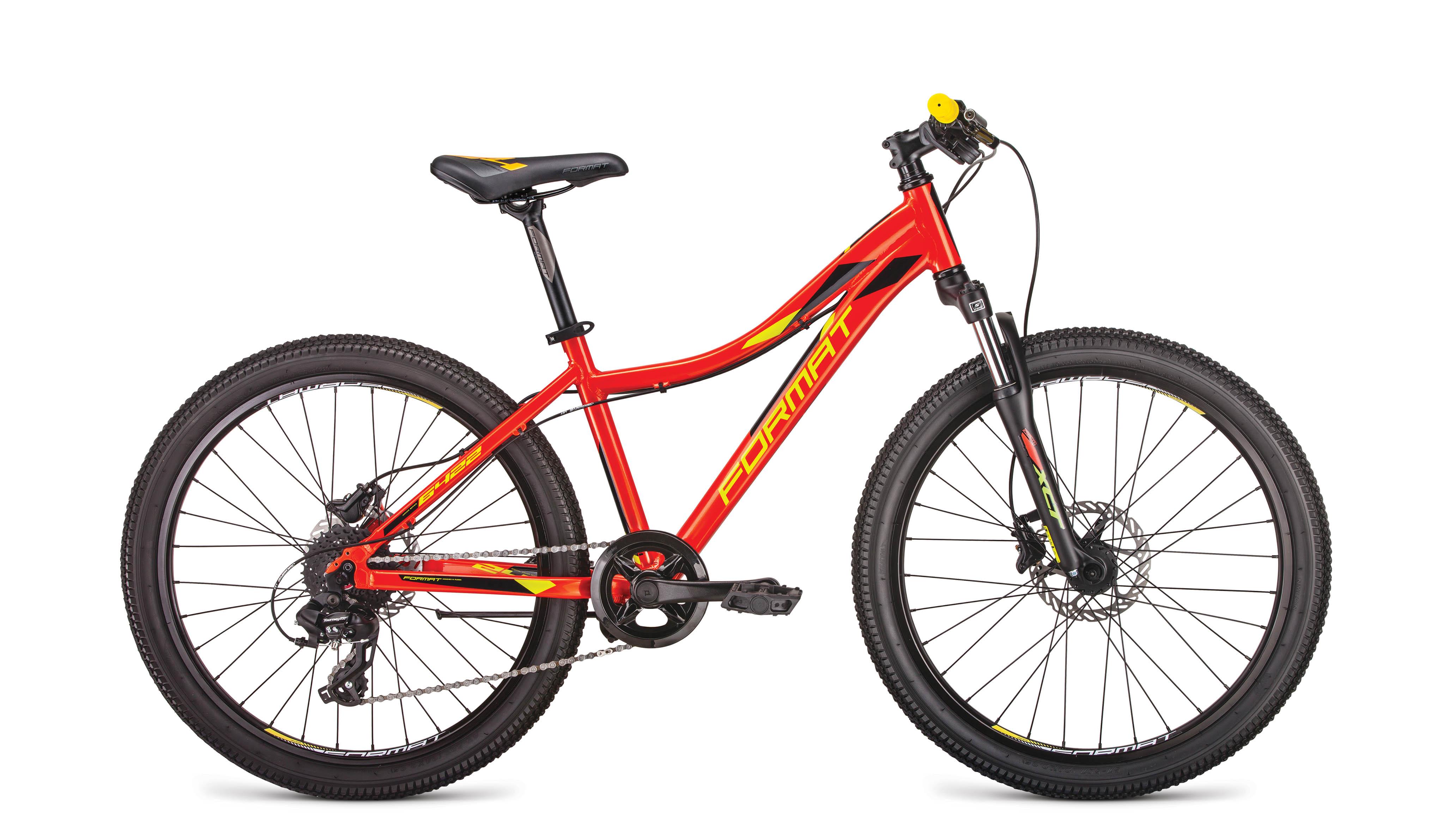Велосипед FORMAT 6422 2019 красный one size