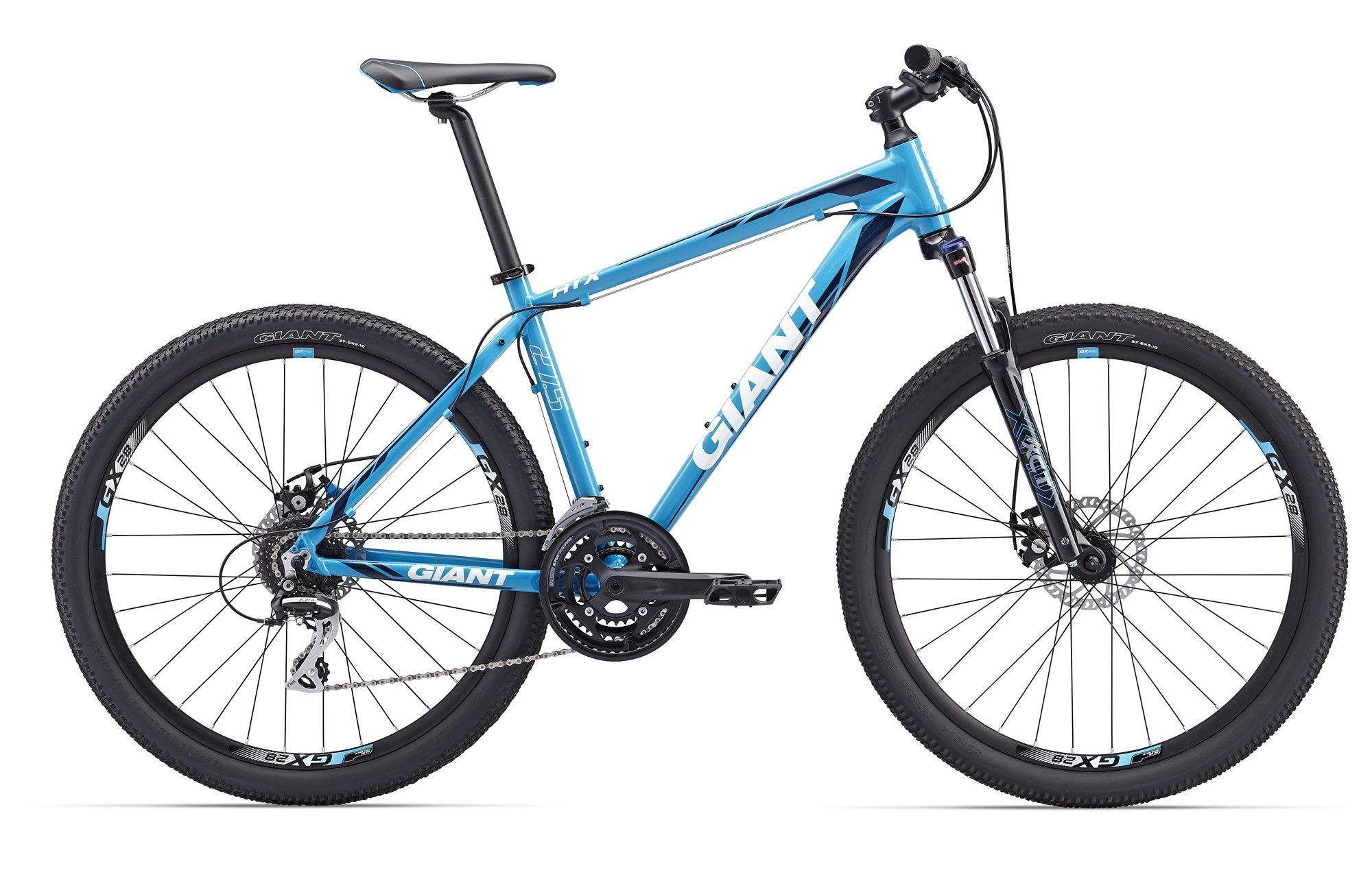 Велосипед Giant ATX 1 (2017) сине-белый M
