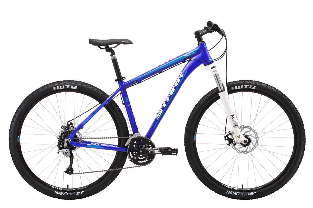 Велосипед Stark Tactic 29.5 D 2018 тёмно-синий-белый-голубой 20 д