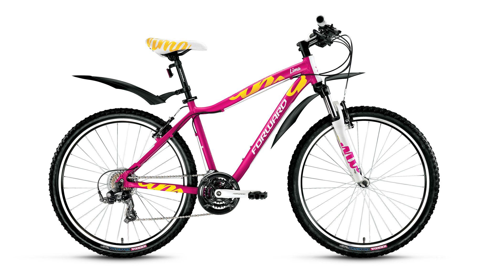 Велосипед Forward Lima 1.0 2016 розовый 15 д
