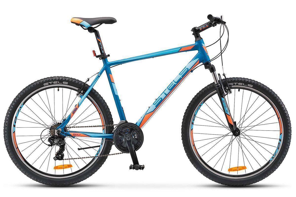 STELS Велосипед Stels Navigator 610 V 26 (2017) темно-синий 20 велосипед stels navigator 610 v 26 2016