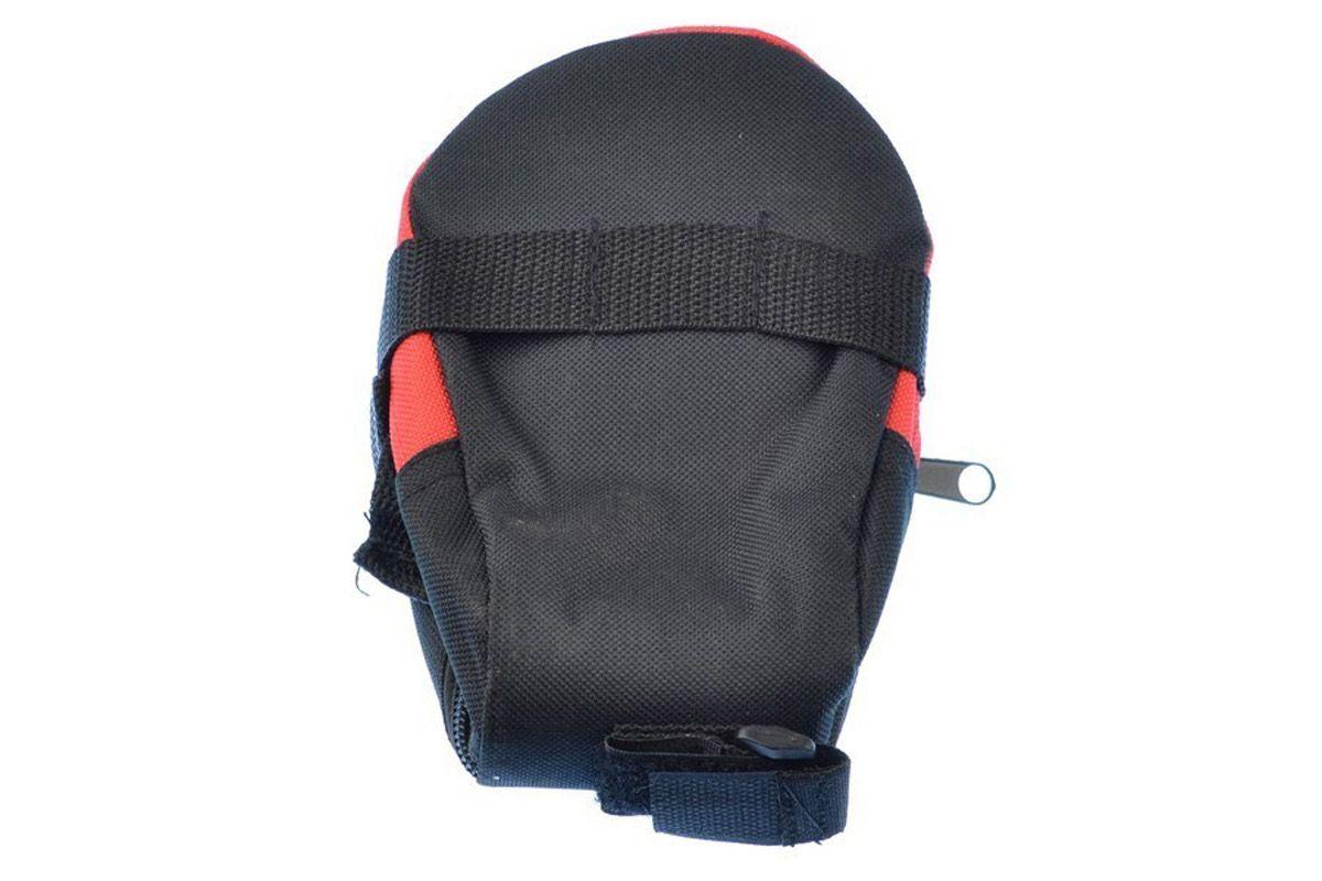 Велосумка под седло JK9915 -СУМКИ<br>Велосумка под седло JK9915. Данная сумка легко крепится под седло велосипеда с помощью двух ремешков-липучек и не даст повредиться вещам внутри сумки. Надёжный замок-молния позволяет широко раскрывать сумку для удобного доступа к содержимому<br><br>бренд: NO-NAME<br>год: Всесезонный<br>рама: None<br>вилка: None<br>блокировка амортизатора: None<br>диаметр колес: None<br>тормоза: None<br>уровень оборудования: None<br>количество скоростей: None<br>Цвет: -<br>Размер: None