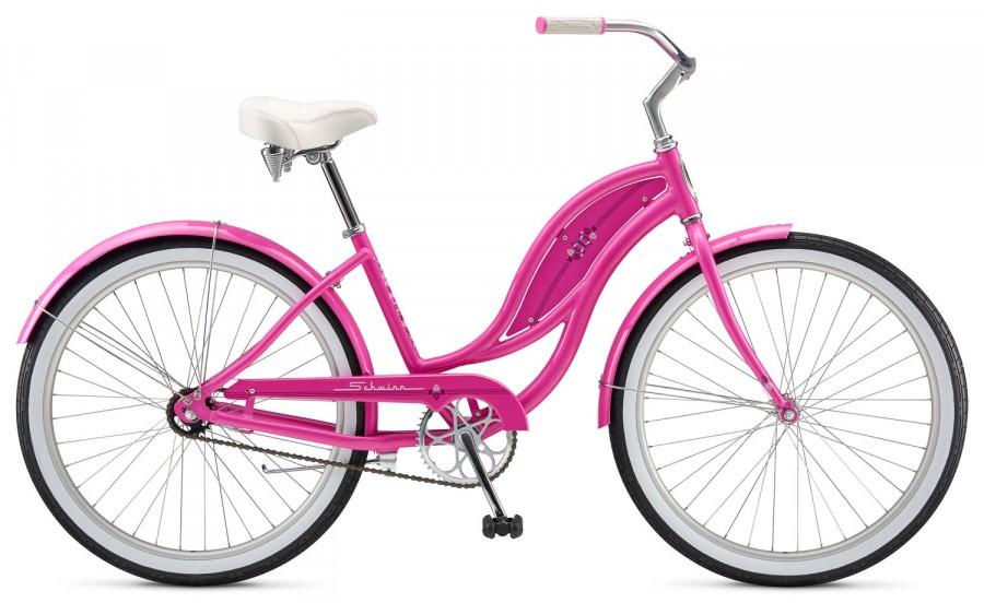Велосипед Schwinn Slik Chik Women 2017 желтый one size