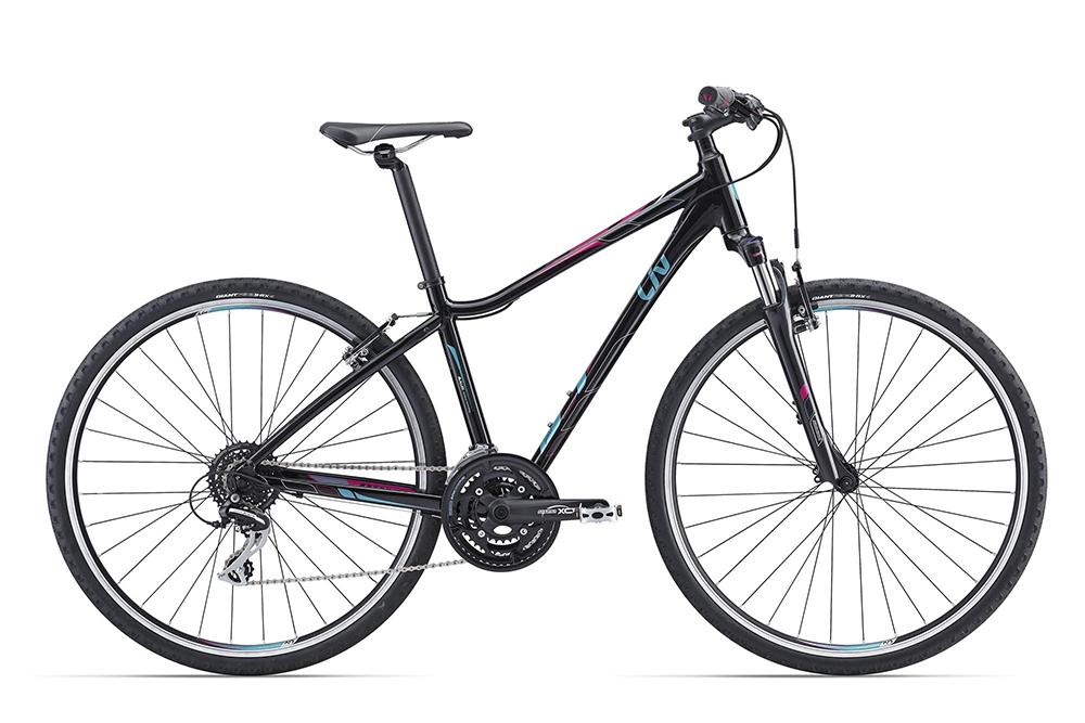 Велосипед Giant Rove 3 DD 2016 чёрный M
