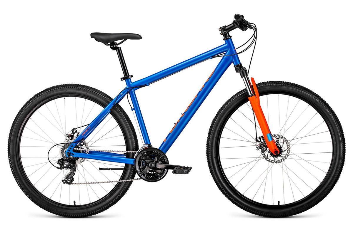 Велосипед Forward Sporting 29 2.0 disc 2019 синий-матовый 17 д