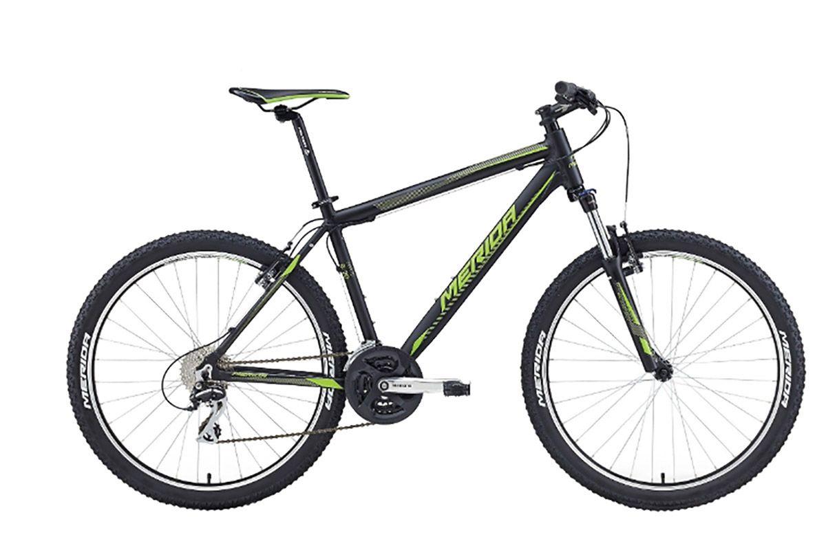 MERIDA Велосипед Merida Matts 6. 20-V (2016) черно-зеленый 18 велосумка подседельная merida 11 5 5 7 8 3 cm крепление на ремешке черно зеленый 2276003357
