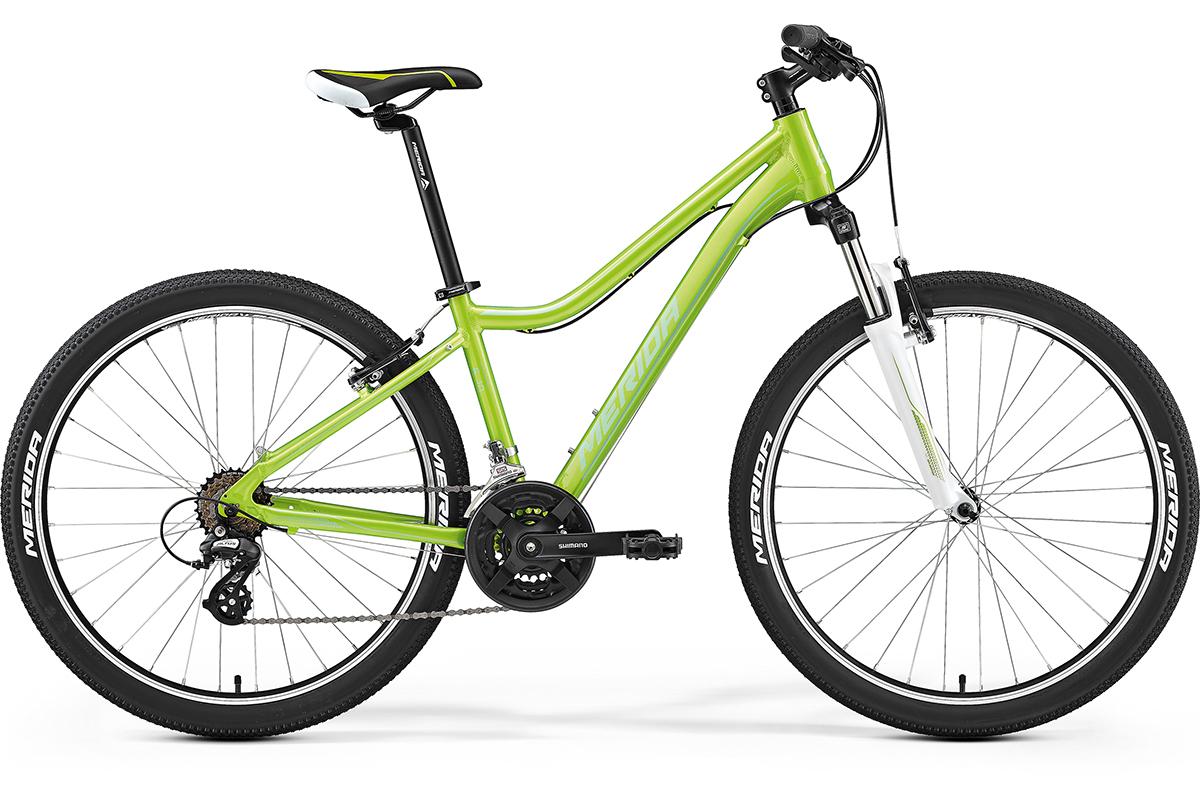 MERIDA Велосипед Merida Juliet 6. 10-V (2017) зеленый 17 флягодержатель merida cl 078 пластик бело зеленый 2124002578