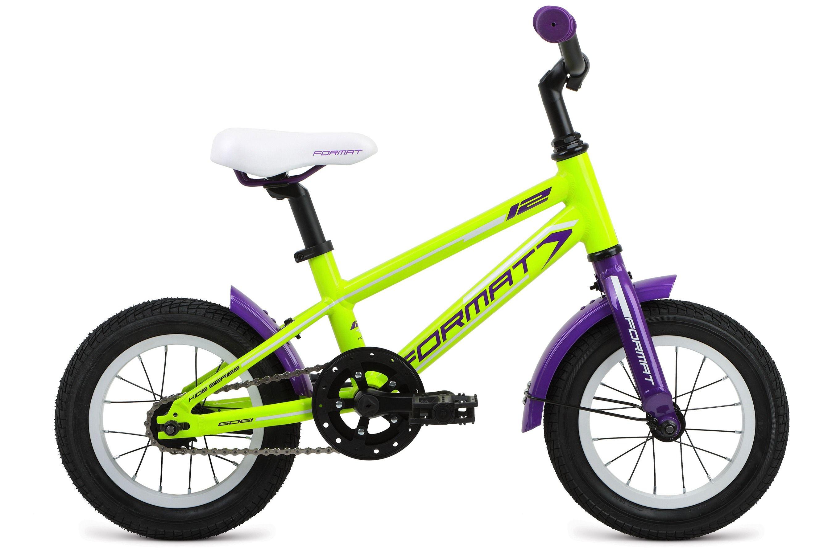 Велосипед Format Girl 12 (2017) желтый 7ОТ 1 ДО 3 ЛЕТ (12-14 ДЮЙМОВ)<br><br><br>бренд: FORMAT<br>год: 2017<br>рама: Алюминий (Alloy)<br>вилка: Жесткая (алюминий)<br>блокировка амортизатора: Нет<br>диаметр колес: 12<br>тормоза: Ножной ( Coaster brake)<br>уровень оборудования: Начальный<br>количество скоростей: 1<br>Цвет: желтый<br>Размер: 7