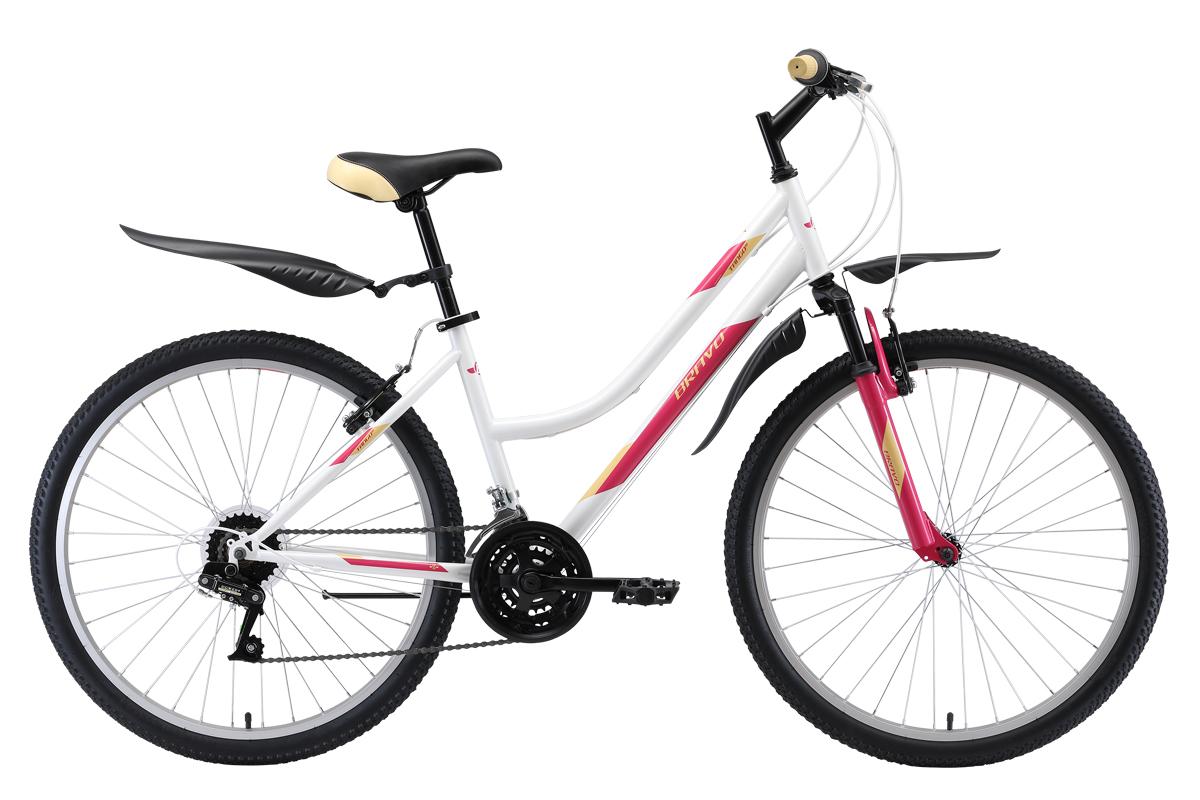 Велосипед Bravo Tango 26 (2019) белый/розовый/кремовый 16