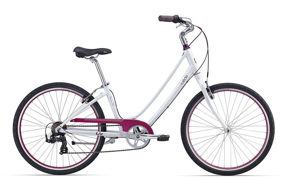Велосипед Giant Suede 2 2016 белый M