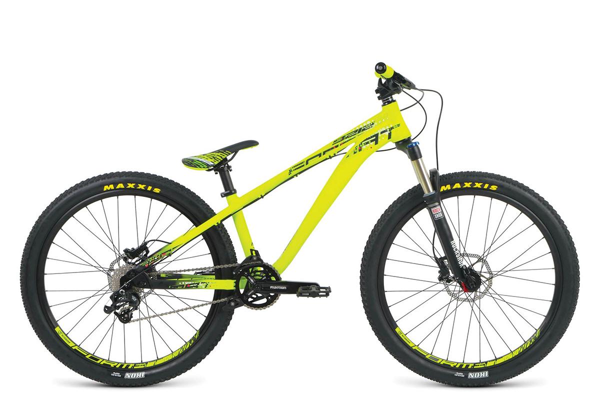 Велосипед Format 9212 (2016) желто-черный 18