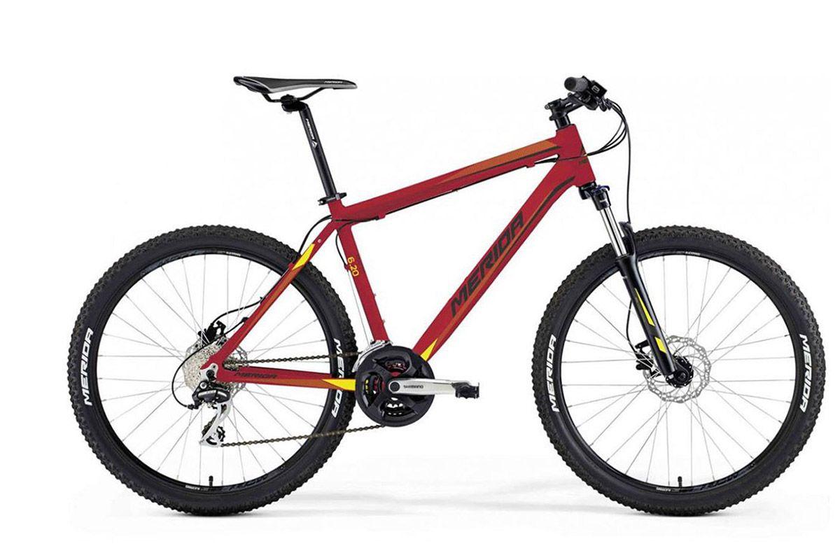 Велосипед Merida Matts 6. 20-MD (2016) красно-желто-черный 18
