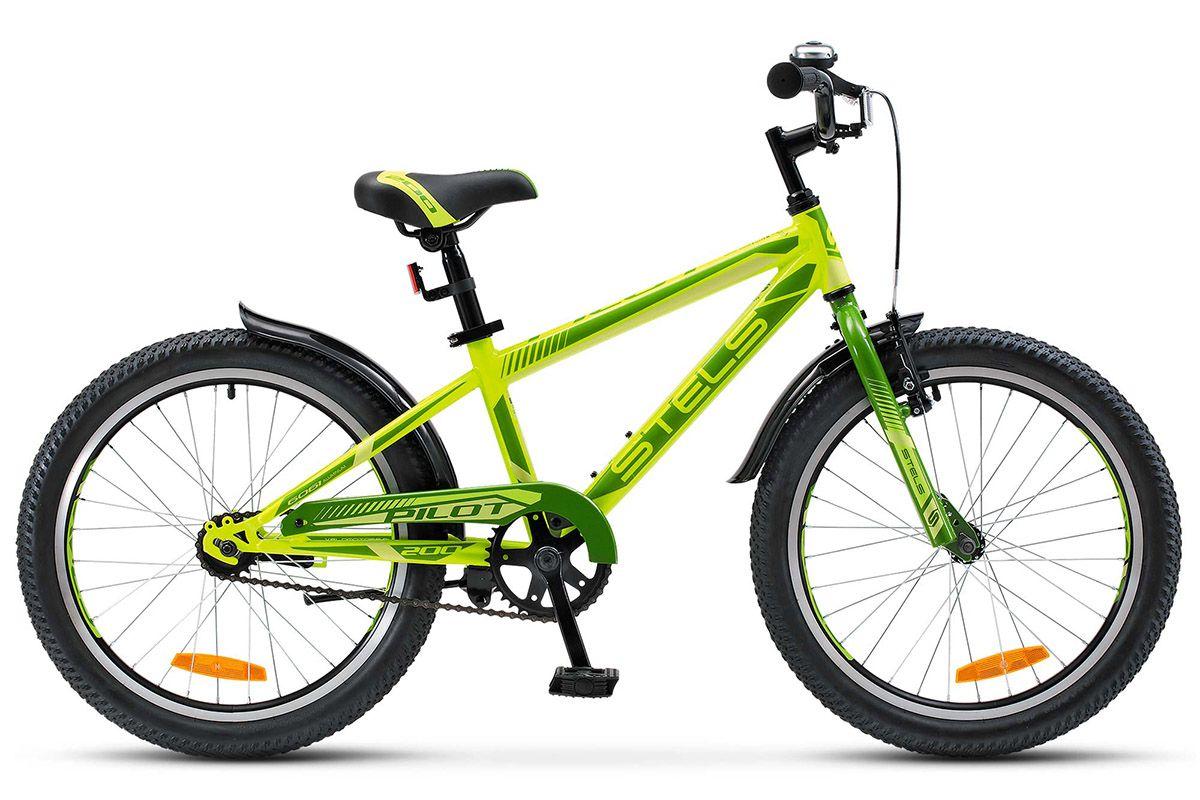 STELS Велосипед Stels Pilot 200 Boy (2017) неоновый-красный 11