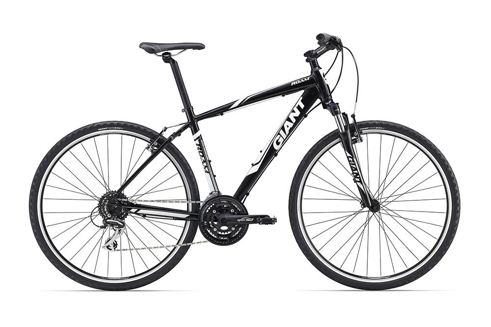 Велосипед Giant Roam 3 2016 чёрный L